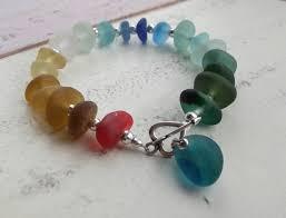 How To Make Jewelry From Sea Glass - seaham waves sea glass jewellery