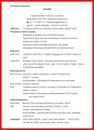 american resume exles standard resume exles standard format standard resume sle