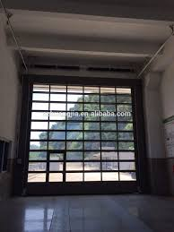 Industrial Overhead Doors by Industrial Heave Duty Outside Motor Electric Glass Panel Garage