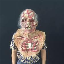 halloween horror party hat full face headgear zombie mask