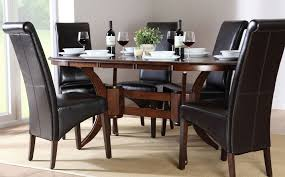 Black Oval Dining Room Table - black oval dining table set oval dining table set for your small