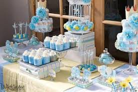 blue baby shower lemon and blue baby shower by your unique party baby shower