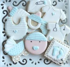 18 baby boy decorated cookies baby cookies nurse thank you