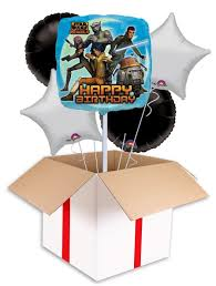 wars balloons delivery wars rebels happy birthday balloon delivered inflated in uk