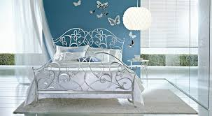 silver bed ciacci papillon bed in silver leaf uber cool designer silver bed