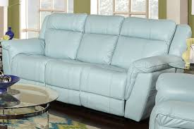 Frontroom Furnishings Living Room Leather Power Reclining Sofa Callahan Recliner