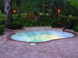 inground pool deck ideas oval above ground pool deck intex oval