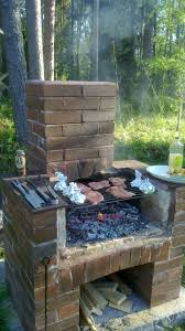 Outdoor Barbecue File Wood Heated Outdoor Barbecue Jpg Wikimedia Commons