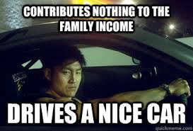 Nice Car Meme - go to harvard study to be mechanic car obsessed asian quickmeme