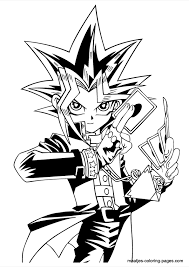 holiday coloring pages yugioh coloring pages free printable