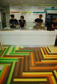 Decorar Con Suelos Laminado Suelorayas Stripefloors Wood - Fast food interior design ideas