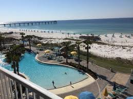 Comfort Inn Ft Walton Beach View From My Room Picture Of Holiday Inn Resort Fort Walton