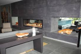 living room awesome regtangle black modern gas fireplace inserts
