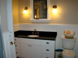 Bathroom Countertop Options Best Bathroom Countertop Square Mirror With Dark Brown Frame Black