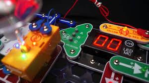 snap circuits arcade model sca 200 youtube