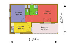 surface d une chambre modèles de chalets et hll loisirs ossature bois brives constructions