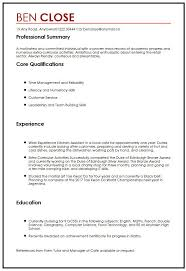 Extra Curricular Activities In Resume Sample by Perfect Cover Letter Uk