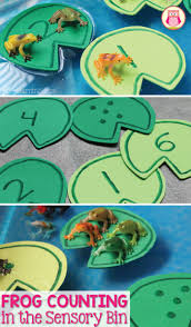 frog counting activity early learning ideas
