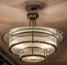 art deco chandelier look elegant for interior home inspiration