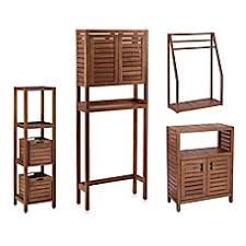 stained teak bathroom furniture in brown bed bath u0026 beyond