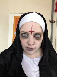 dead makeup halloween zombie nun make up google search costumes and makeup