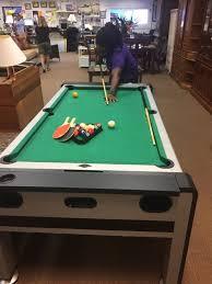 Ping Pong Pool Table Pool Table Ping Pong Air Hockey Furniture In Bradenton Fl Offerup