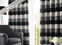 Navy Blue And White Striped Curtains Curtains Cool Grey Curtain Ideas For Large Windows Modern Home