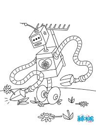 robot coloring pages drawing for kids videos for kids kids