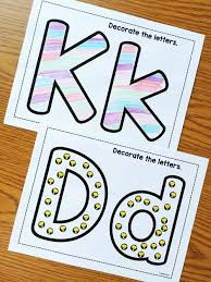 alphabet crafts u0026 printables notebooks simply kinder