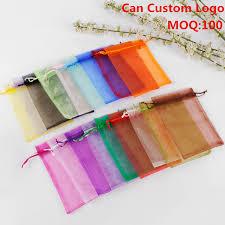 wholesale organza bags aliexpress buy baloray 50pcs lot wholesale organza bags