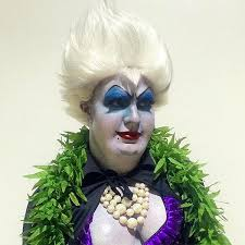ursula costume colton haynes dressed as ursula from the mermaid for