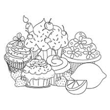 top 25 free printable cupcake coloring pages online free