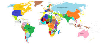 Argentina World Map by The World Map Thinglink
