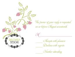Invitation Reply Card Delovely Designs Kathryn And Adam U0027s Wedding Invitation U0026 Monogram