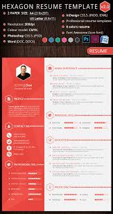 Resume Creative Template Download Graphic Resume Templates Haadyaooverbayresort Com
