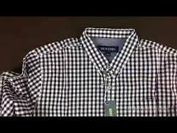 mens long sleeve button casual dress shirt review youtube