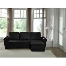 canapé d angle convertible noir modern sofa canapé d angle convertible noir neptun 240cm x 88cm