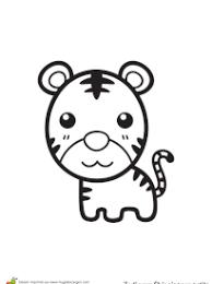 coloriage tigre sur hugolescargot com