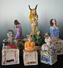the seven deadly sins the seven deadly sins u2014 mary mcgill ceramics