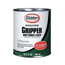 interior wood stain colors home depot glidden professional 1 qt gripper interior exterior white primer