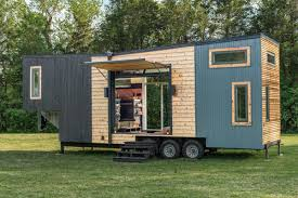 tiny house big living escher u0027 tiny house raises the bar for luxury small living curbed