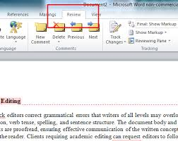 How To Build A Resume On Word 2010 Microsoft Remove Editor Comments U2014 Word 2010
