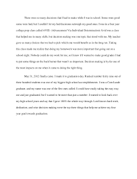 just graduated high school need a graduation narrative essay