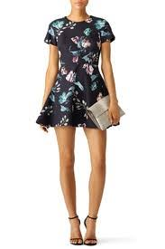 botanical sts botanical dress by stylestalker for 30 50 rent the runway