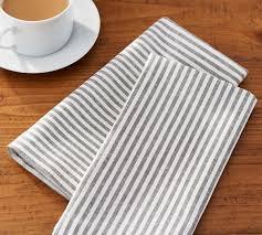 Pottery Barn Kitchen Towels Wheaton Stripe Napkin Pottery Barn Au