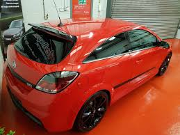 vauxhall astra vxr black 2009 59 vauxhall astra vxr racing edition in power red with remus