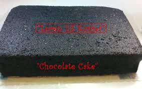 chocolate cake sponge filipino version homemade rec 9x13