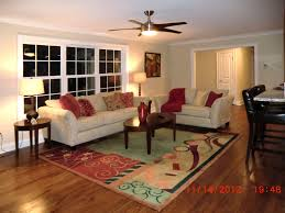 living room triple windows carameloffers
