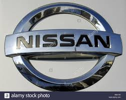 nissan logo nissan japan japanese car manufacturer company asian asia sign