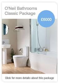 Bathroom Packages Packages O U0027neil Bathrooms